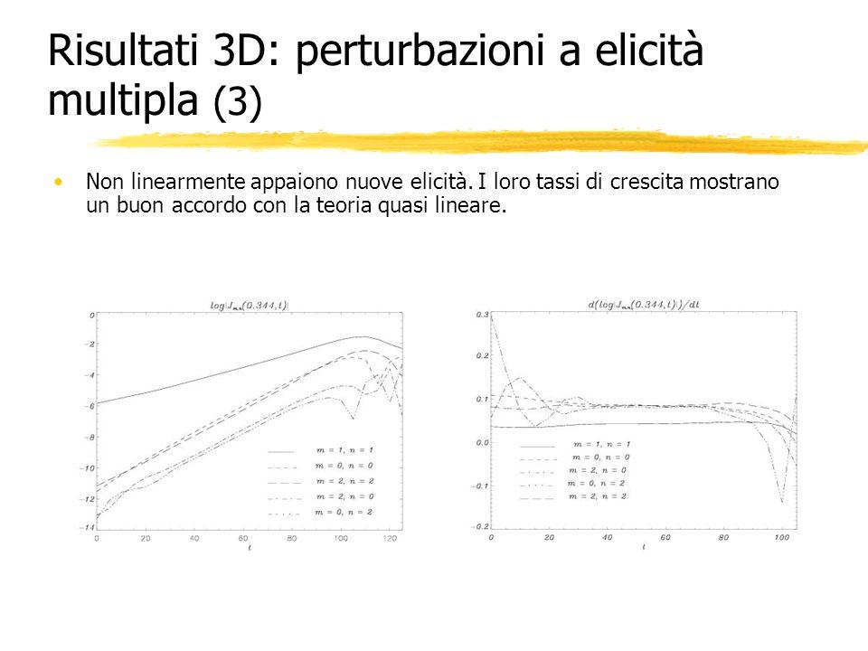 Risultati 3D: perturbazioni a elicità multipla (3)