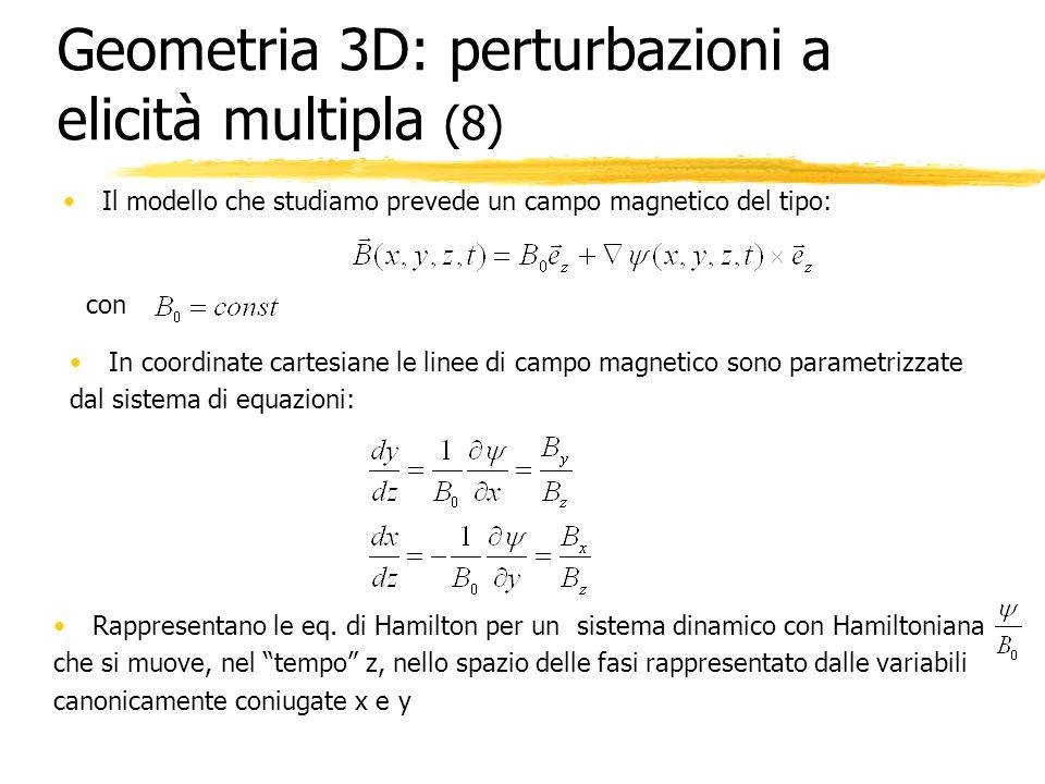 Geometria 3D: perturbazioni a elicità multipla (8)
