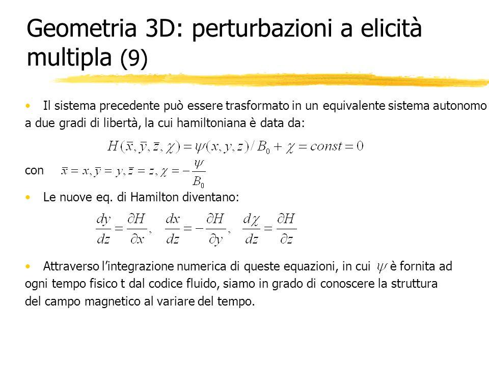 Geometria 3D: perturbazioni a elicità multipla (9)