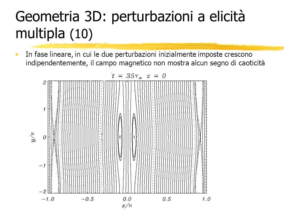 Geometria 3D: perturbazioni a elicità multipla (10)