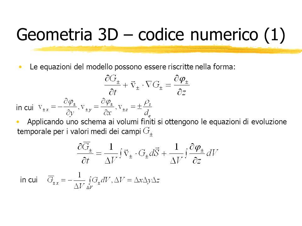Geometria 3D – codice numerico (1)