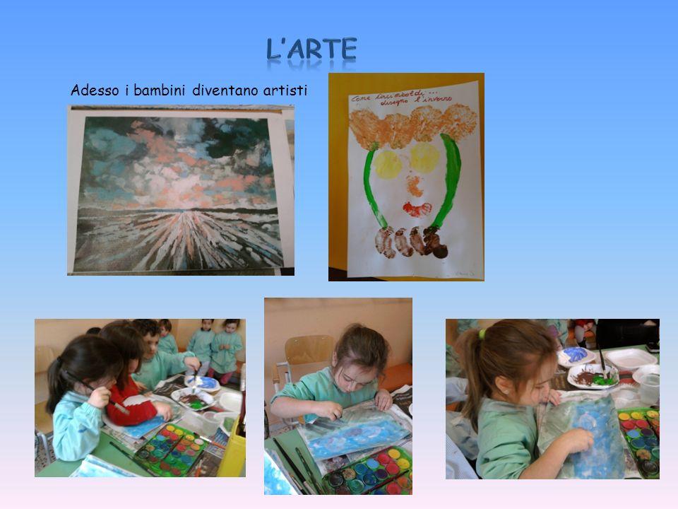 Adesso i bambini diventano artisti