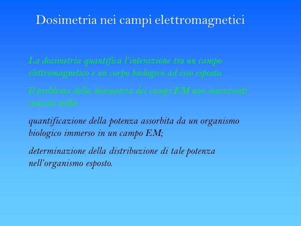 Dosimetria nei campi elettromagnetici