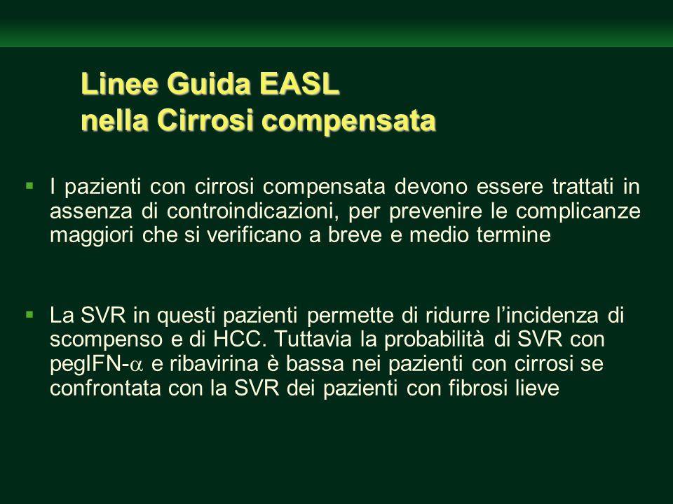 Linee Guida EASL nella Cirrosi compensata