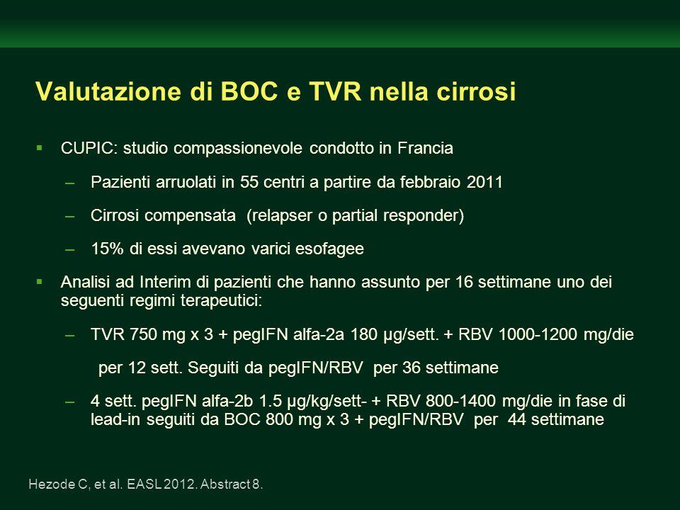 Valutazione di BOC e TVR nella cirrosi