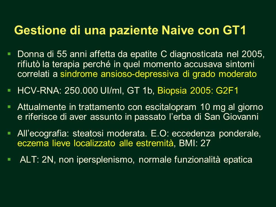 Gestione di una paziente Naive con GT1