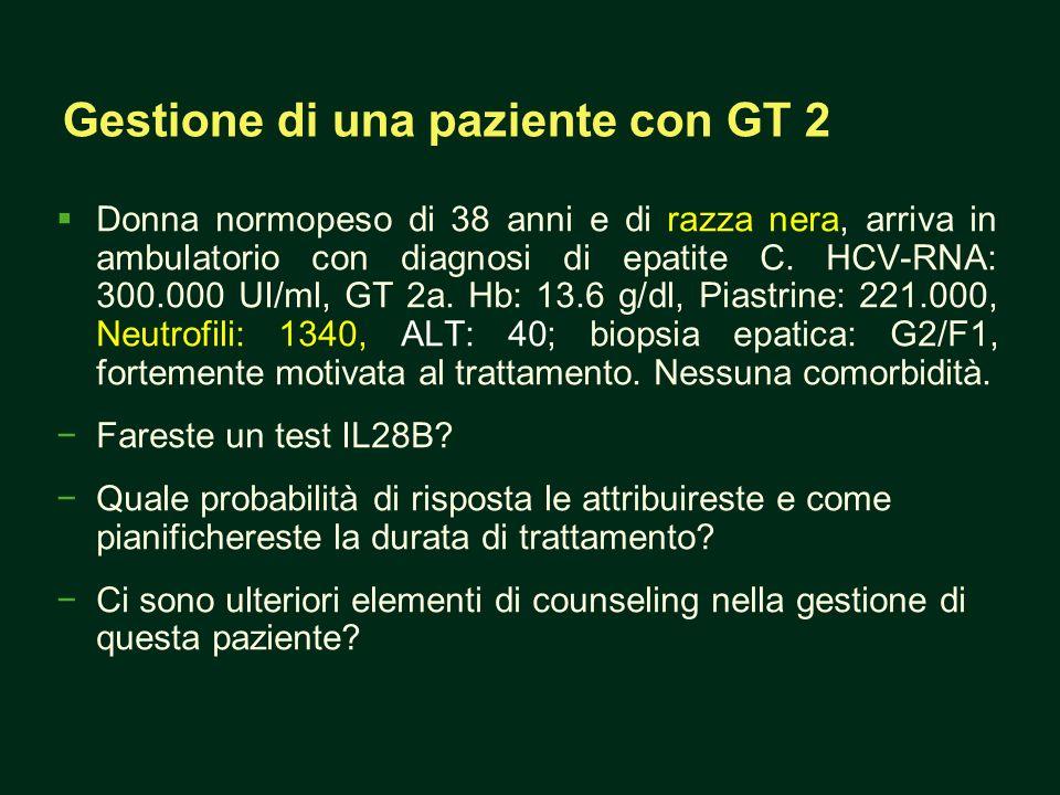 Gestione di una paziente con GT 2