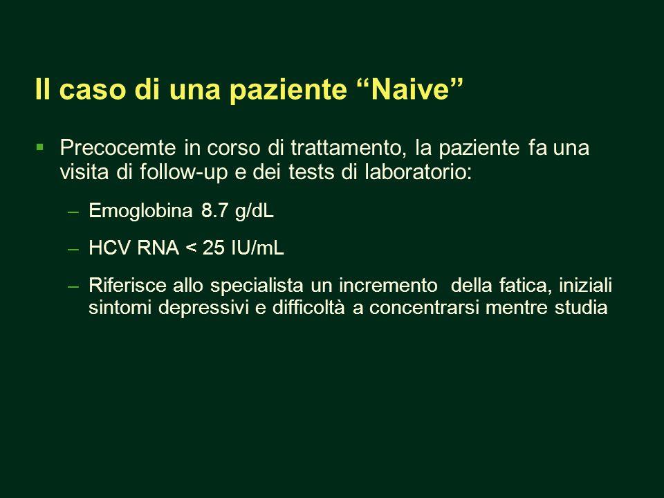Il caso di una paziente Naive