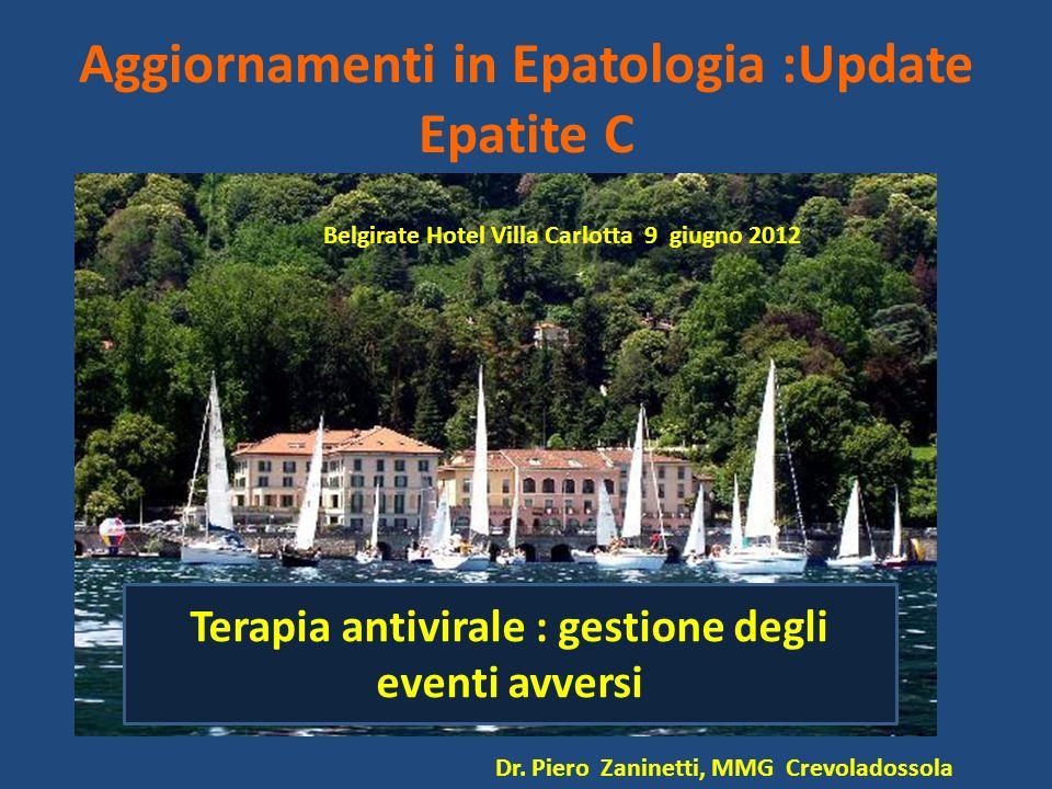 Aggiornamenti in Epatologia :Update Epatite C