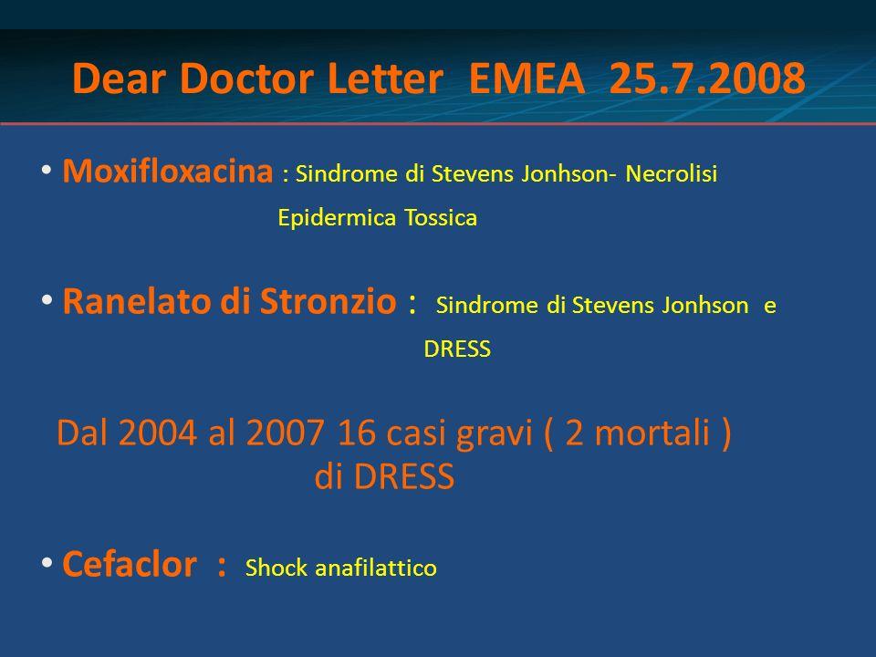 Dear Doctor Letter EMEA 25.7.2008