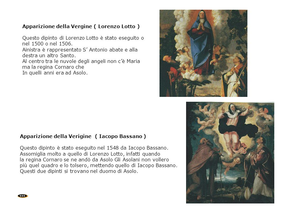 Apparizione della Vergine ( Lorenzo Lotto )