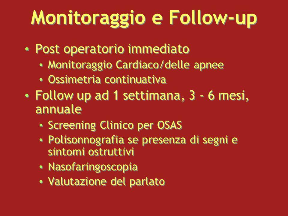 Monitoraggio e Follow-up