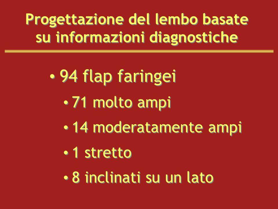 Progettazione del lembo basate su informazioni diagnostiche