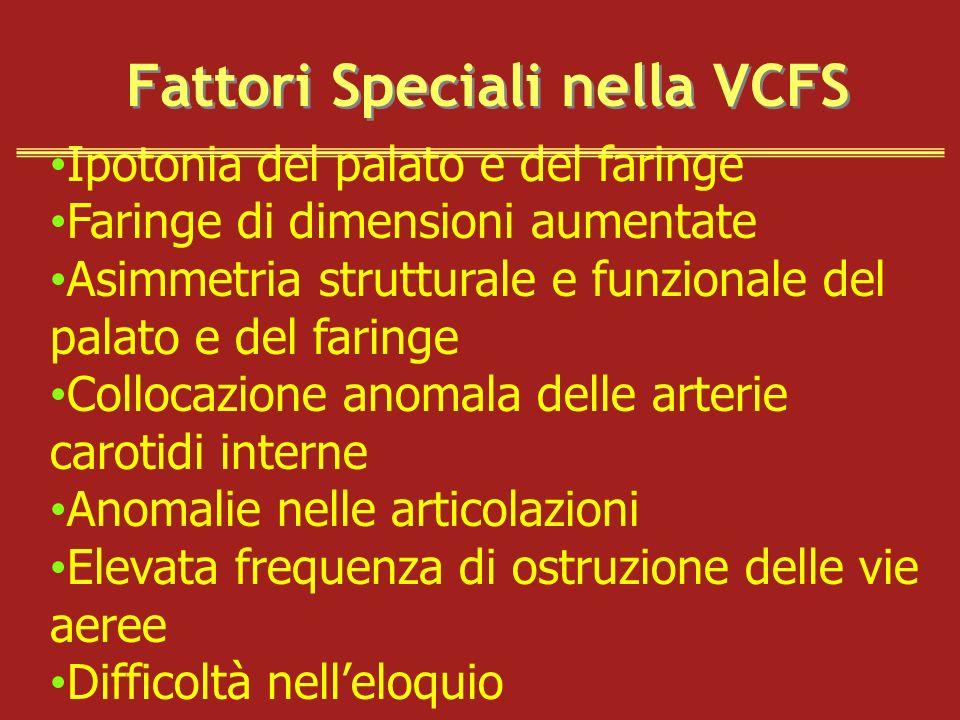 Fattori Speciali nella VCFS