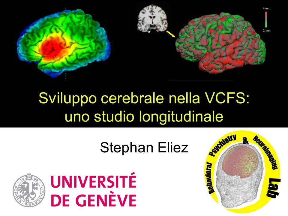 Sviluppo cerebrale nella VCFS: uno studio longitudinale