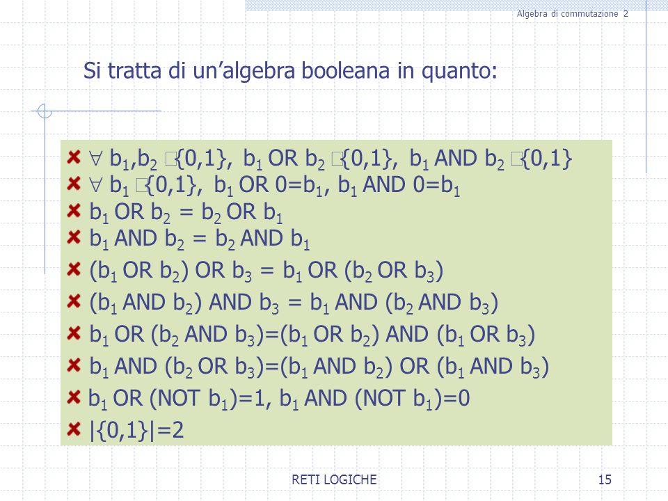 Algebra di commutazione 2