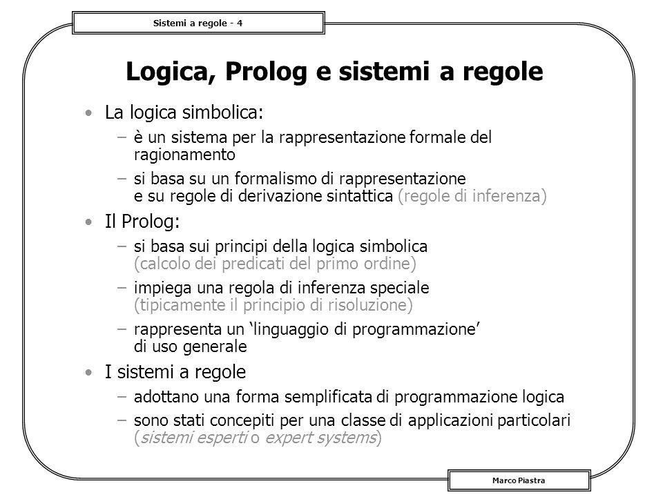 Logica, Prolog e sistemi a regole