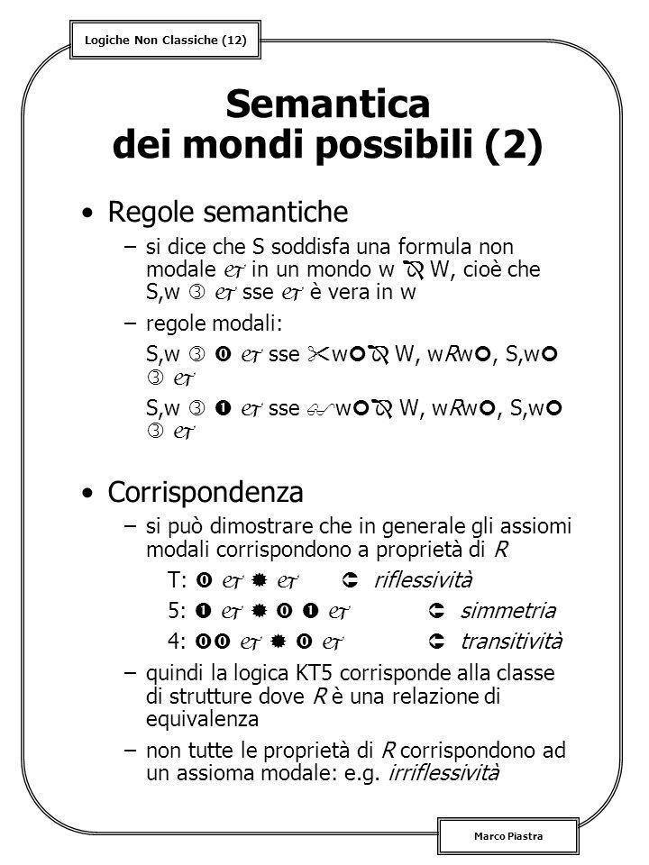Semantica dei mondi possibili (2)