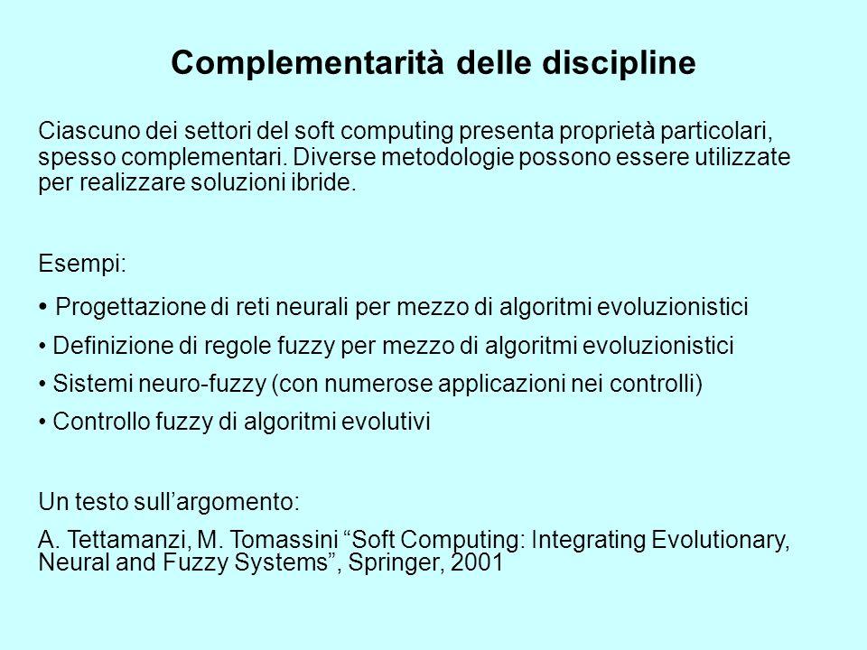 Complementarità delle discipline