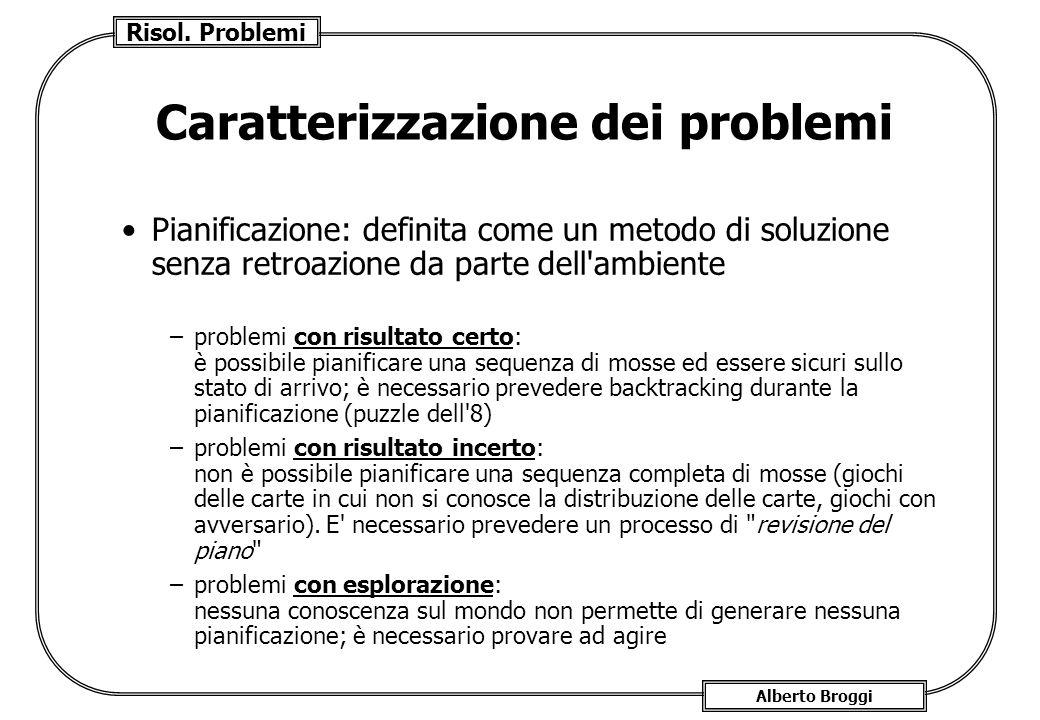 Caratterizzazione dei problemi