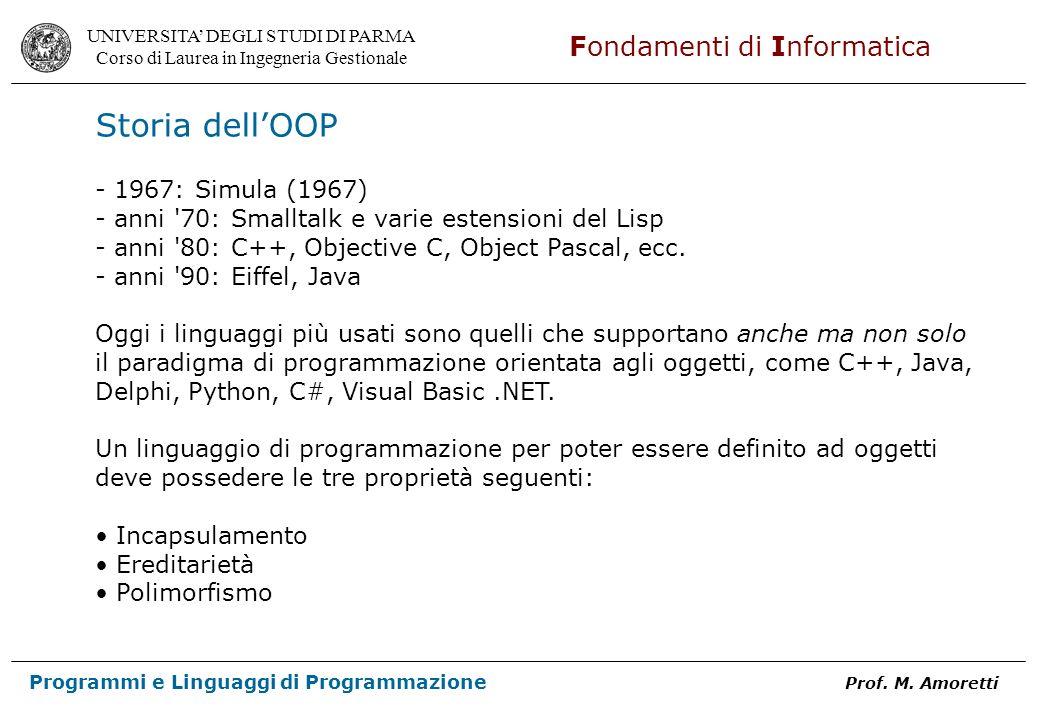 Storia dell'OOP - 1967: Simula (1967)