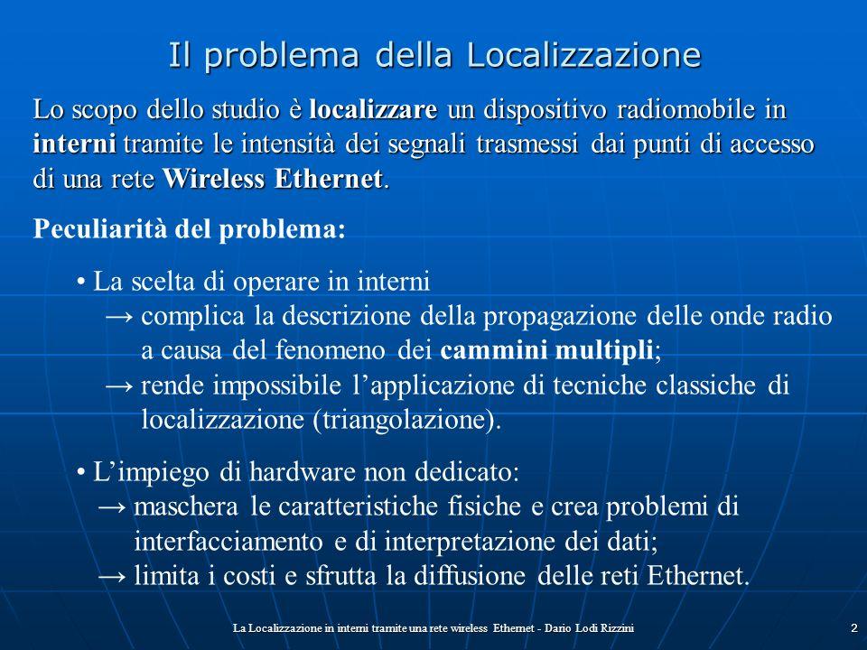 Il problema della Localizzazione