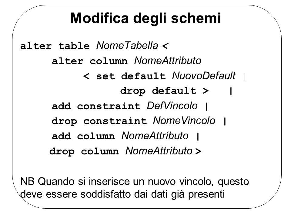 Sql sql pronunciato anche come l inglese sequel l acronimo di structured query language - Alter table drop constraint ...