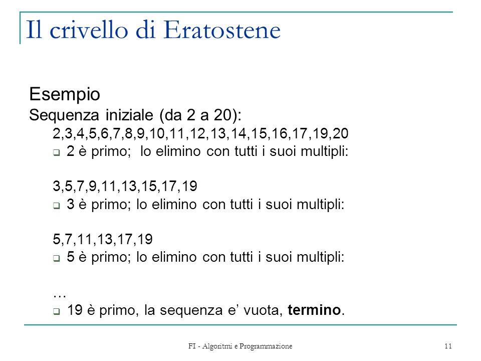 Il crivello di Eratostene