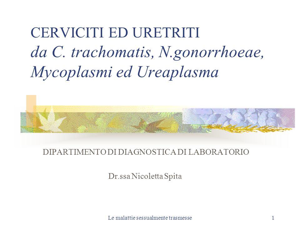 DIPARTIMENTO DI DIAGNOSTICA DI LABORATORIO Dr.ssa Nicoletta Spita