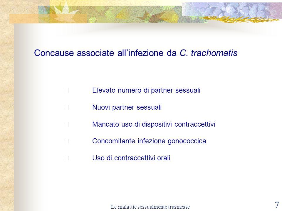 Le malattie sessualmente trasmesse