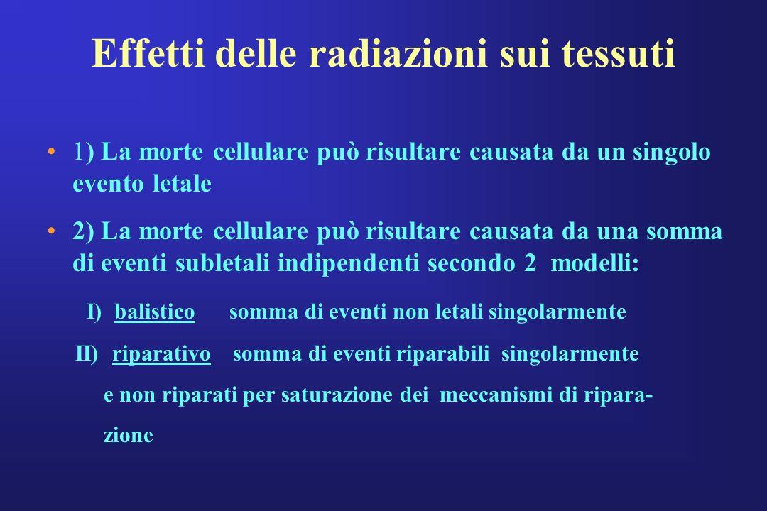Effetti delle radiazioni sui tessuti