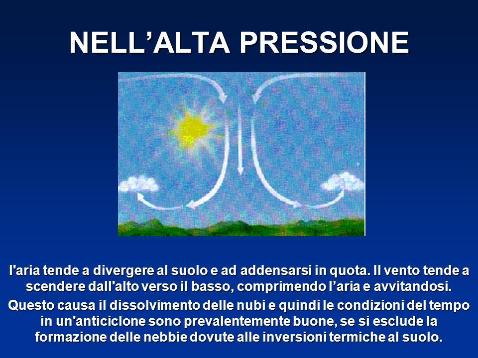 NELL'ALTA PRESSIONE