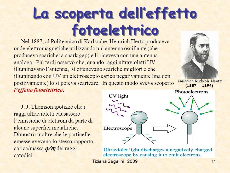 La scoperta dell'effetto fotoelettrico