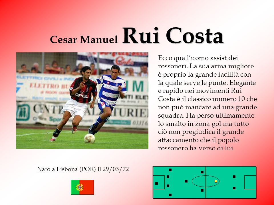 Cesar Manuel Rui Costa