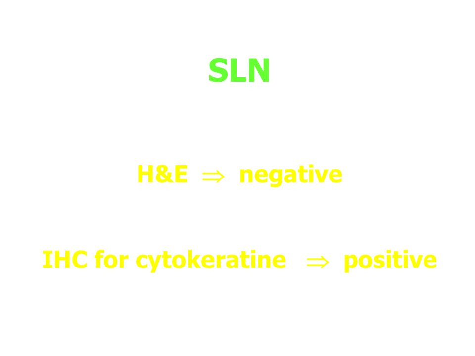 IHC for cytokeratine  positive