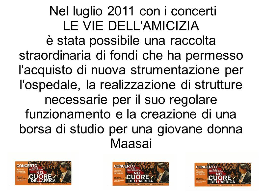 Nel luglio 2011 con i concerti