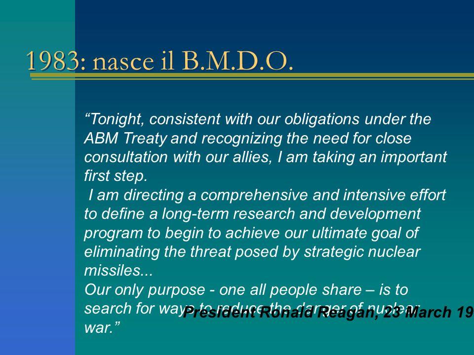 1983: nasce il B.M.D.O.