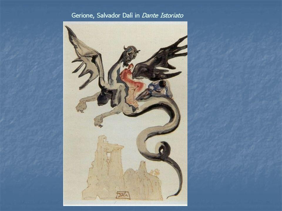 Gerione, Salvador Dalì in Dante Istoriato