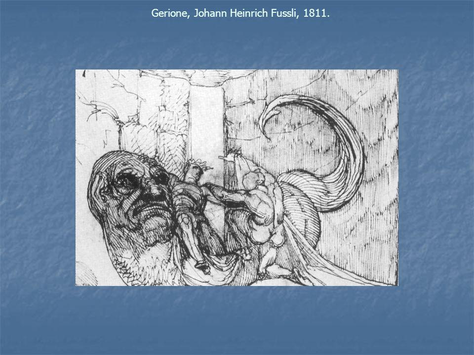 Gerione, Johann Heinrich Fussli, 1811.