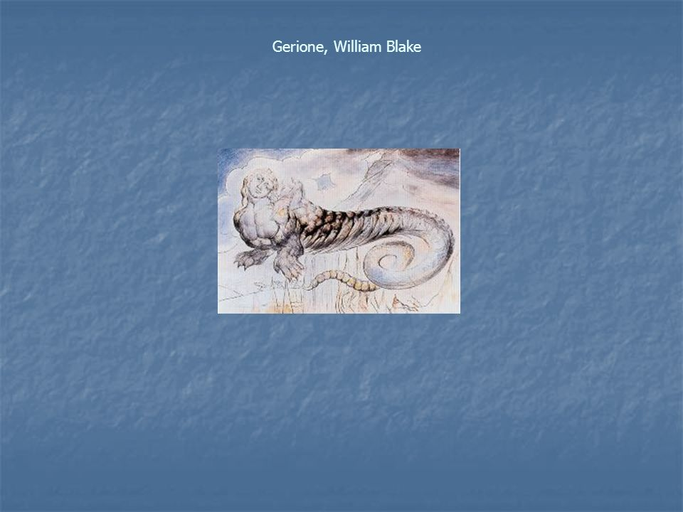 Gerione, William Blake