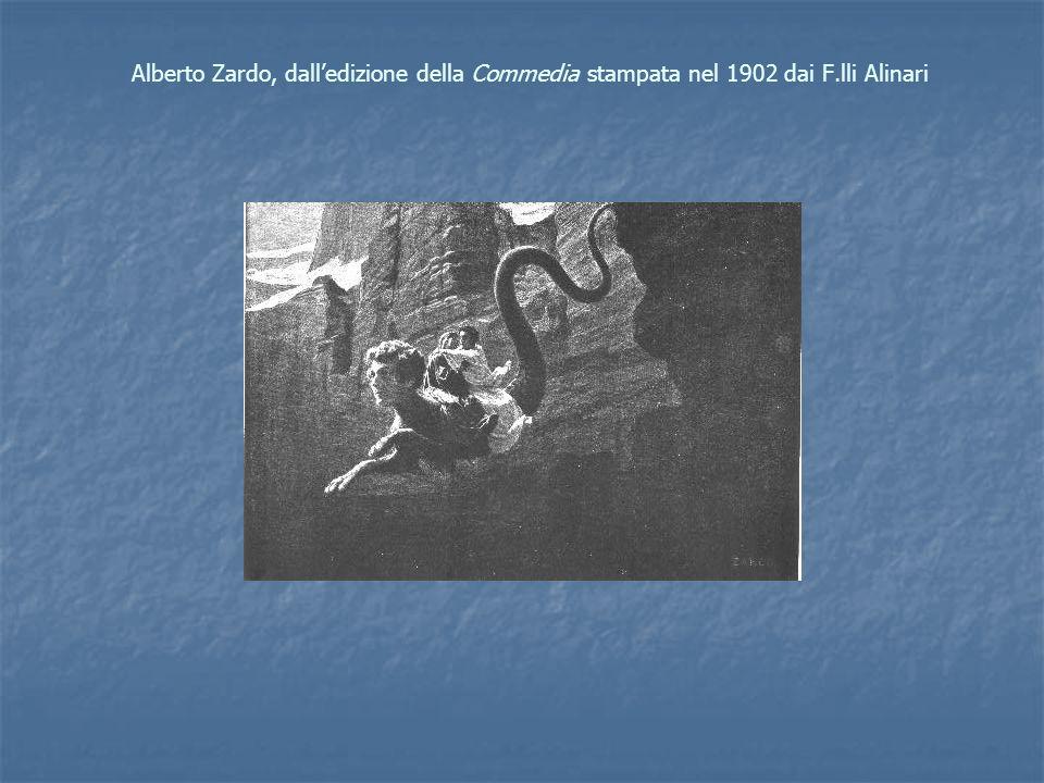 Alberto Zardo, dall'edizione della Commedia stampata nel 1902 dai F
