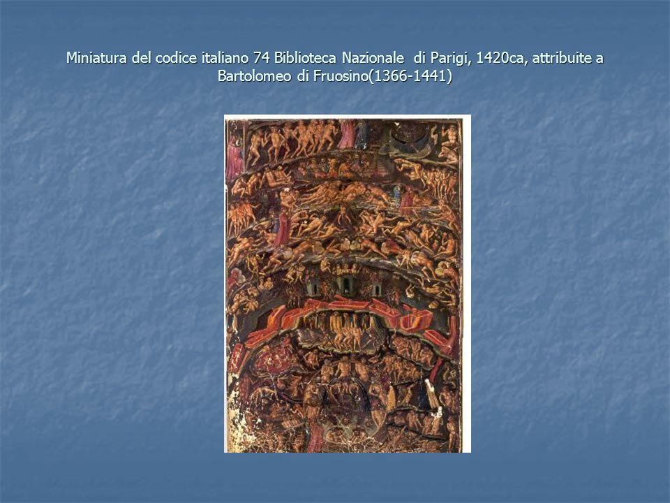 Miniatura del codice italiano 74 Biblioteca Nazionale di Parigi, 1420ca, attribuite a Bartolomeo di Fruosino(1366-1441)