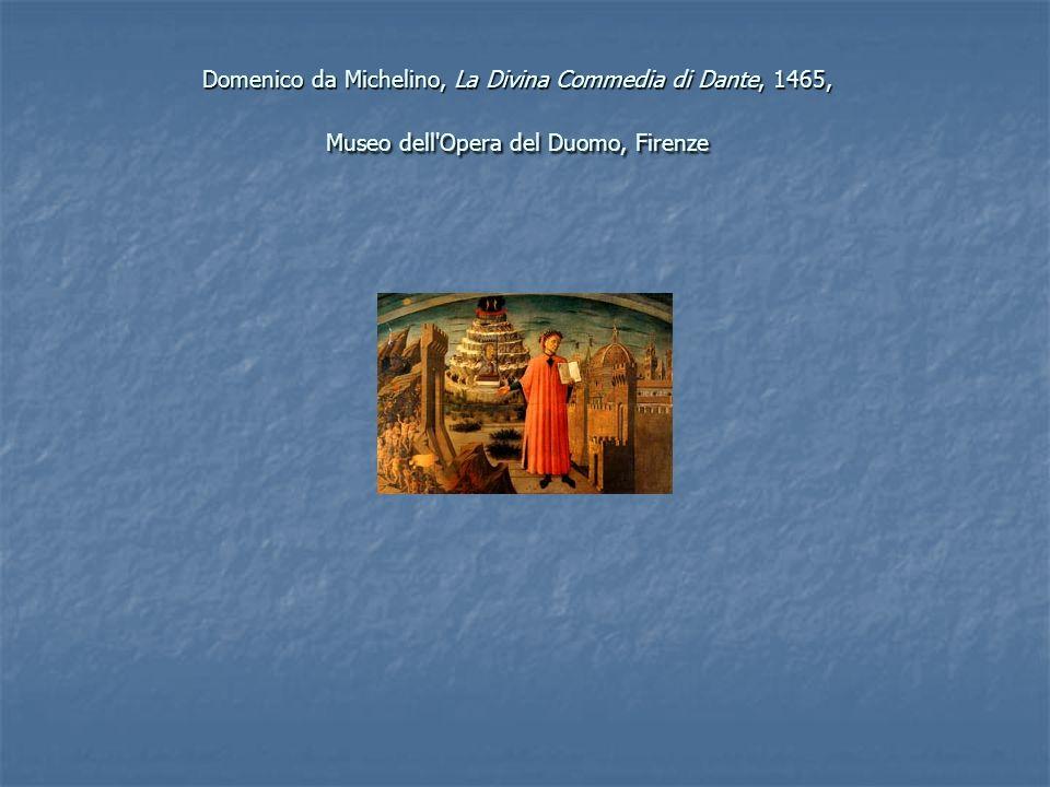 Domenico da Michelino, La Divina Commedia di Dante, 1465, Museo dell Opera del Duomo, Firenze