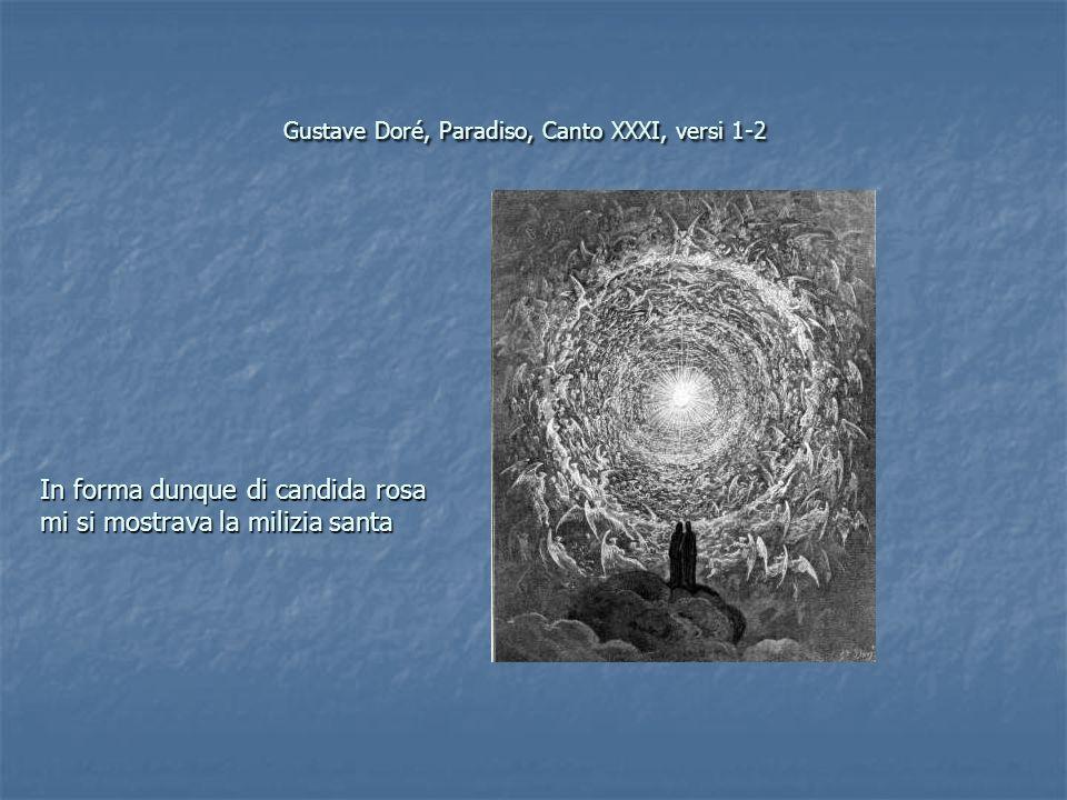 Gustave Doré, Paradiso, Canto XXXI, versi 1-2