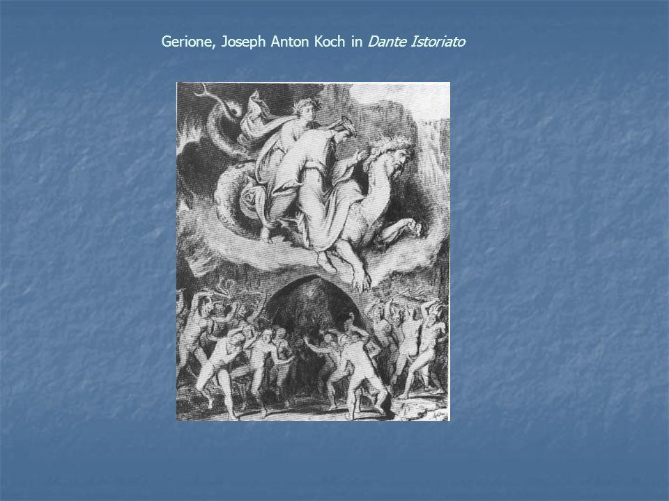 Gerione, Joseph Anton Koch in Dante Istoriato