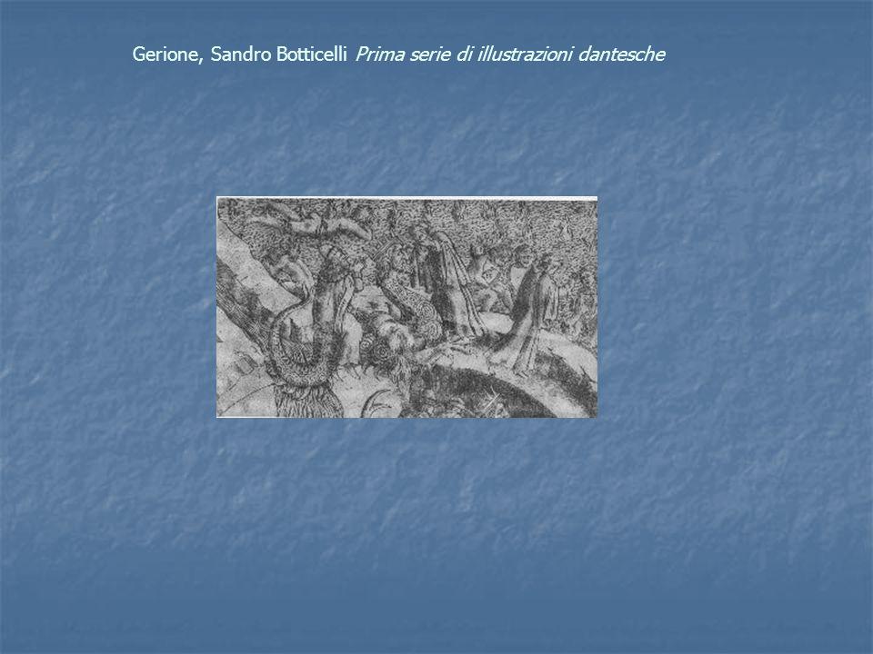 Gerione, Sandro Botticelli Prima serie di illustrazioni dantesche