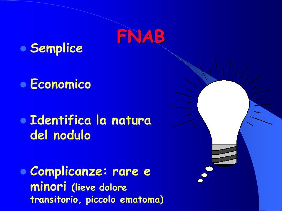 FNAB Semplice Economico Identifica la natura del nodulo