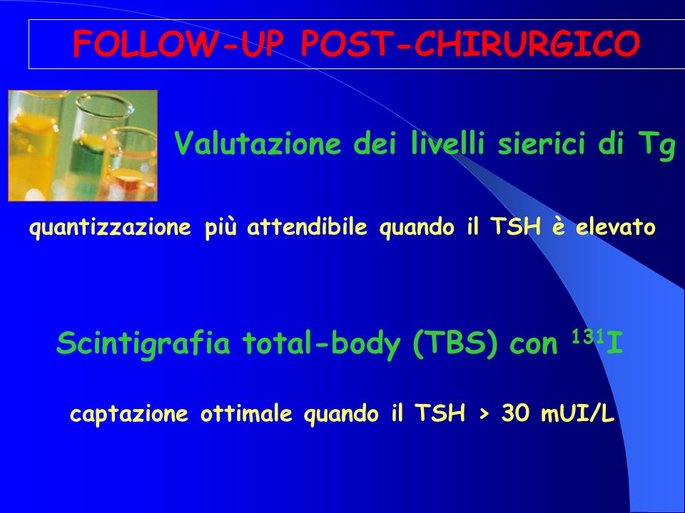 FOLLOW-UP POST-CHIRURGICO