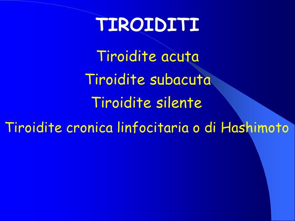 Tiroidite cronica linfocitaria o di Hashimoto