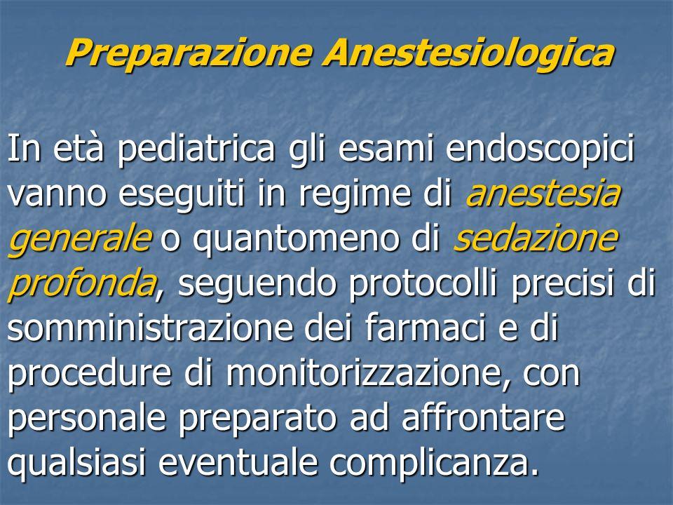 Preparazione Anestesiologica